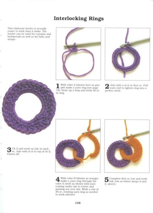 Кольца для вязания крючком 5