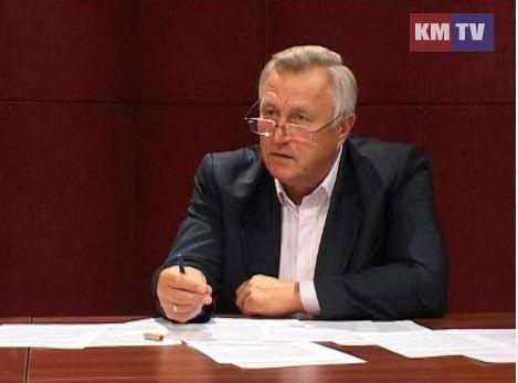 Александр Крутов в студии КМТВ