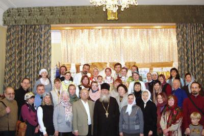 С  настоятелем Николо-Перервинского монастыря