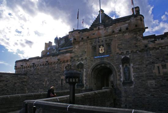 Эдинбургский замок.