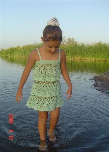 Интересная модель платья