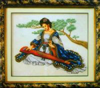 восточная девушка вышивка крестом : Красивые девушки.