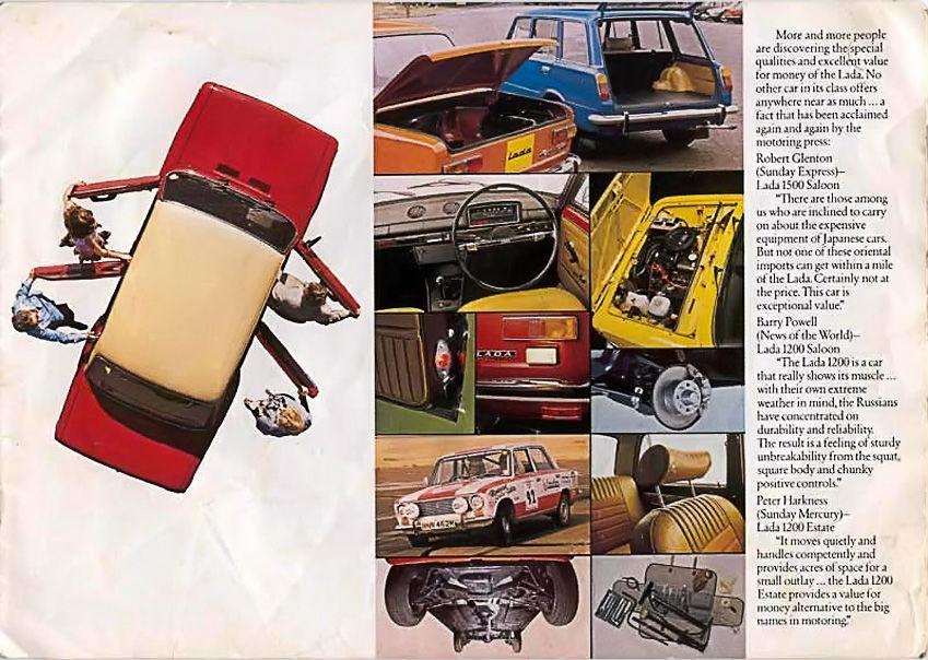 ВАЗ-2101 британский буклет