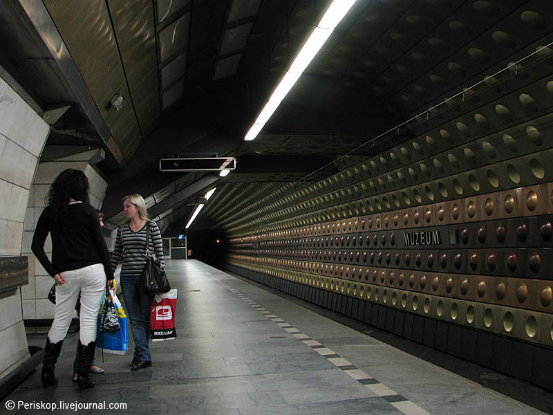 Der totalit?re Ring, ч. 15.  Прага: трамвай и метро.
