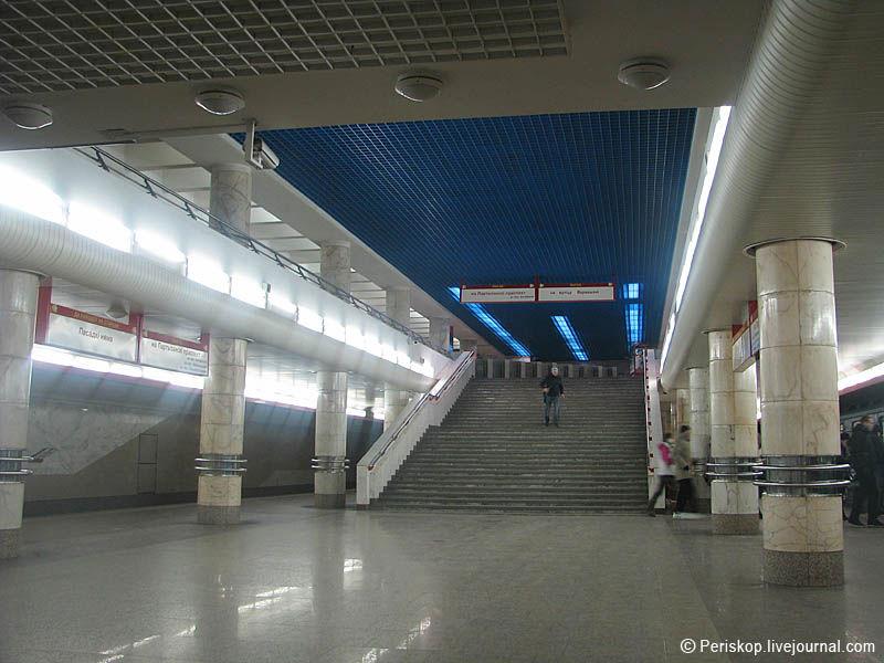 Схема минского метро.