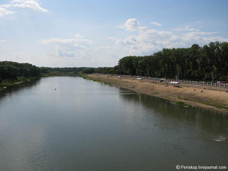 Река урал в оренбурге фото