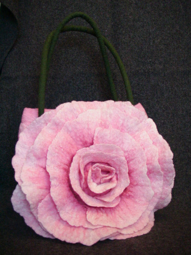 Мой МК Сумка-роза