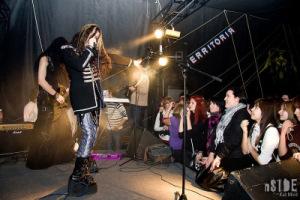 Выступление группы Gothika в Перми