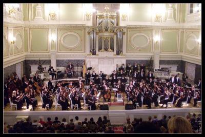 Рождественский концерт в Капелле. 7 января 2010 года