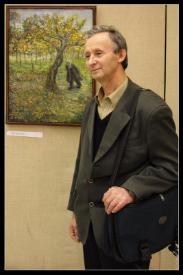 Манеж. Выставка художников Петербург-2009. Яхнин Марат Матвеевич.