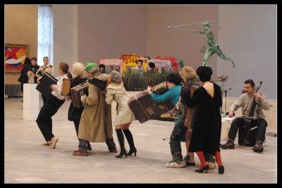 Манеж. Выставка художников Петербург-2009