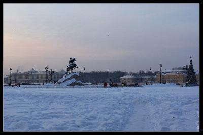 Санкт-Петербург, 3 января 2010