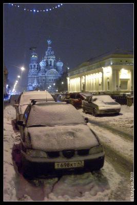 Санкт-Петербург. 7 января 2010. Канал Грибоедова.