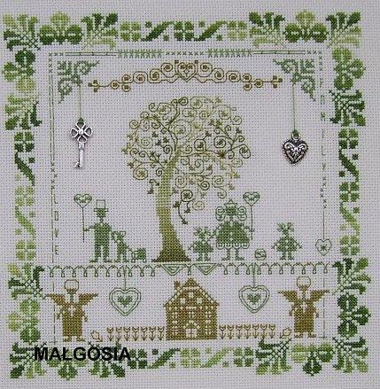 Часть 31.  Обереги-деревья. вышивка.