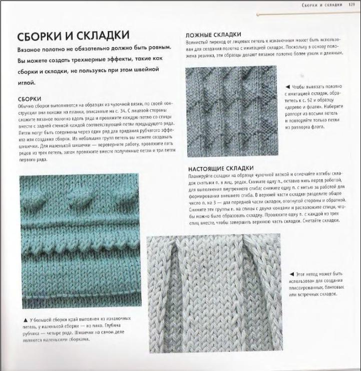Вязание узор для юбки плиссе