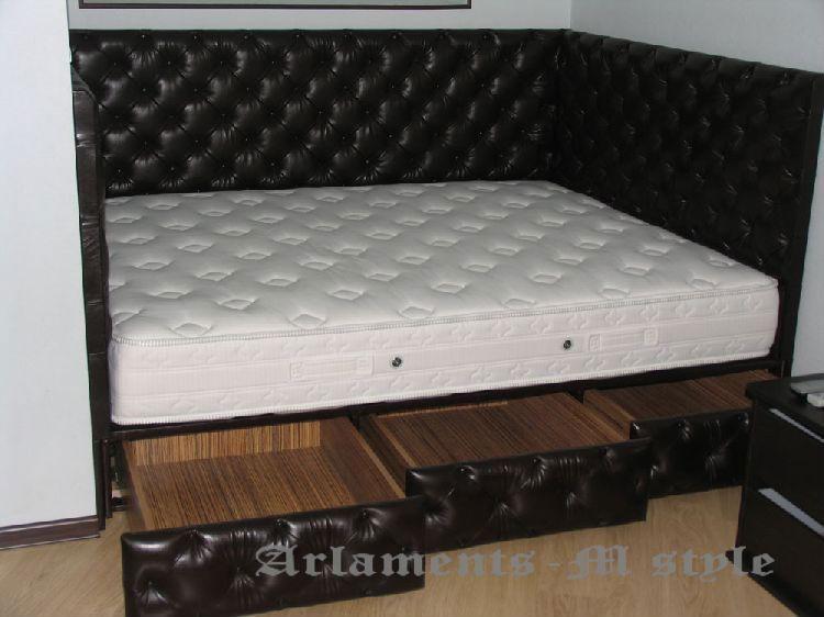 Кровать в нише фото