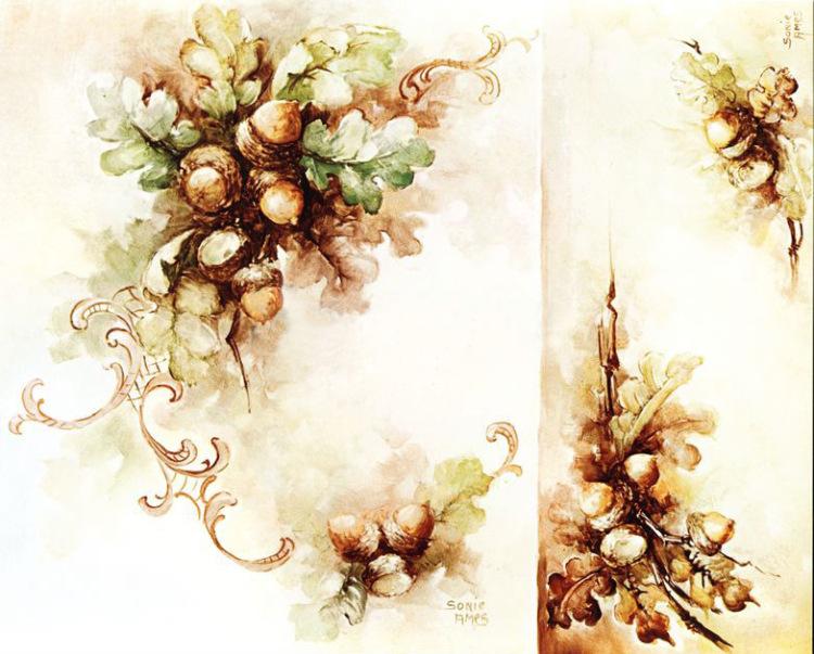 Декупаж картинки цветы и ягоды