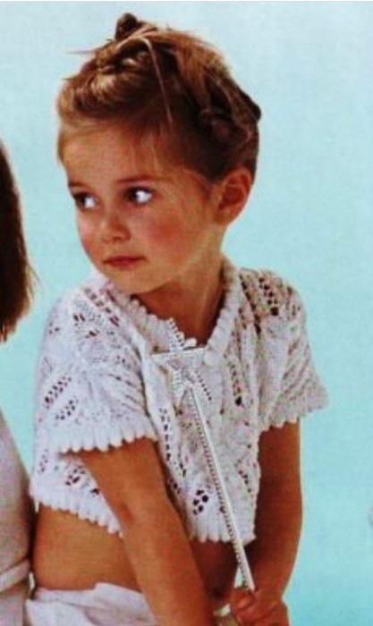 Связать болеро спицами схема - Все о моде. как связать детское болеро