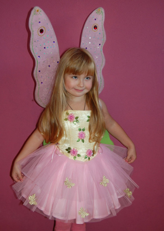 Костюм бабочки для девочки своими руками фото быстро и красиво 57