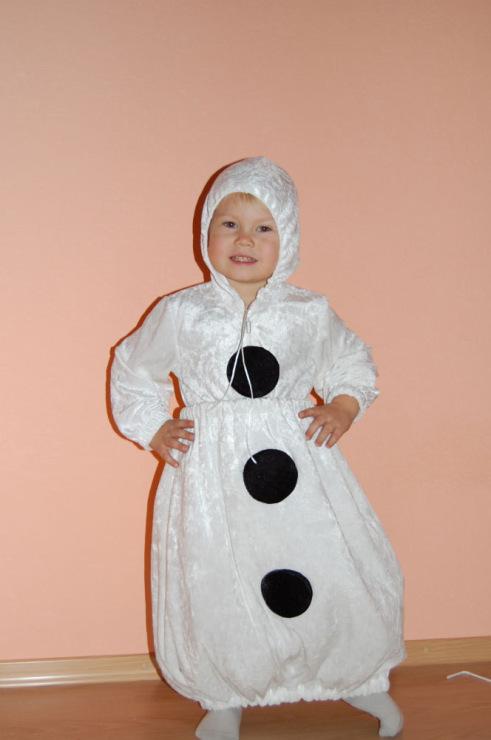 Костюм снеговика на взрослого своими руками фото