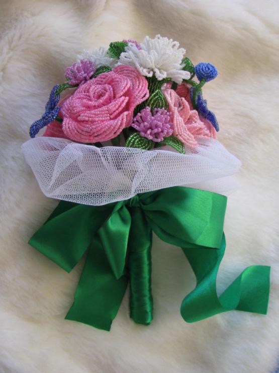 Gallery.ru / Фото #70 - Цветы, деревья, свадебные букеты из бисера на заказ - Bisheri.