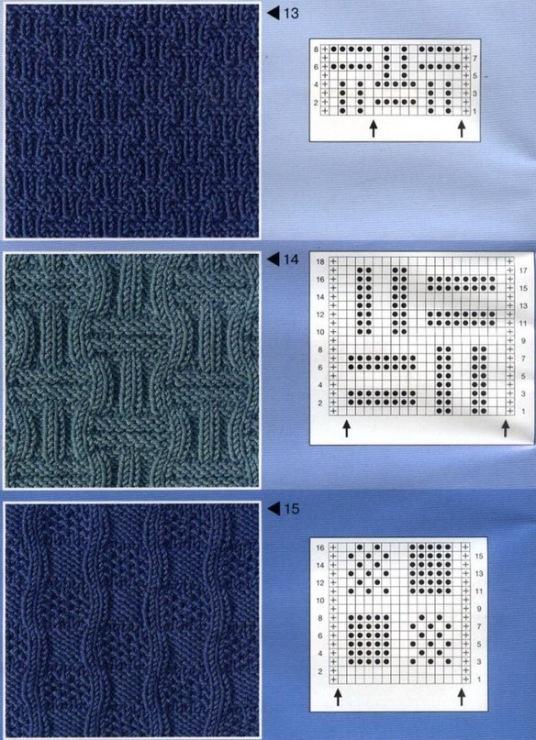 Узор для вязания спицами и крючком. Кофточки вязание крючком и спицами схемы и модели