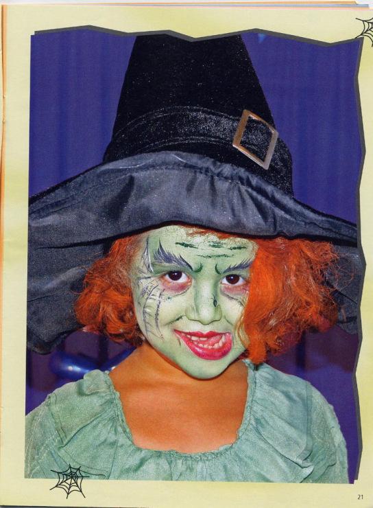 Карнавальный макияж для детей