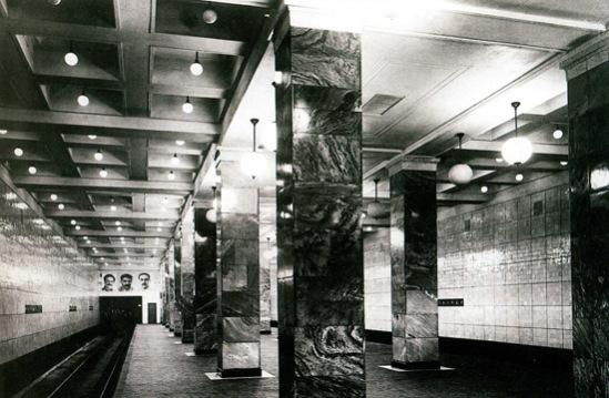 Старые фотографии на метро Сокольники