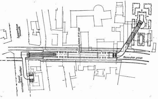 Общий план станции Кировская