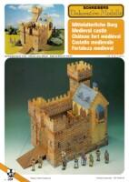чертежи средневековых замков.