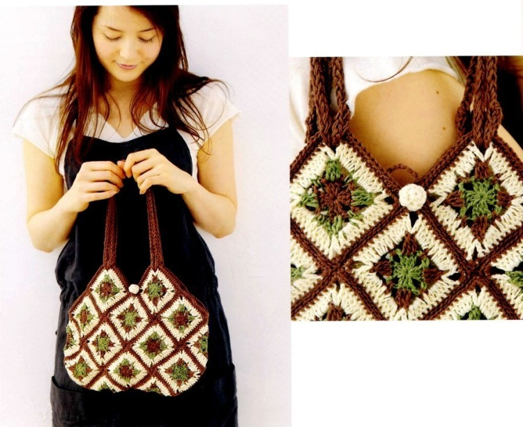 summer bags: crochet, knitting, embroidery patterns